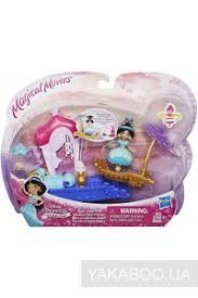 hasbro кукла принцесса в платье с волшебной юбкой бель принцессы дисней