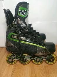 Mission Axiom T6 Size 10 5 Hi Lo Inline Skates Roller Hockey