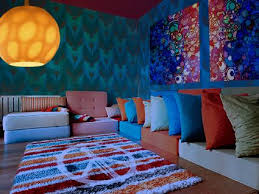 psychedelic room décor ideas lovetoknow