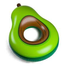 <b>Круг надувной BIGMOUTH</b> Avocado — купить в интернет ...