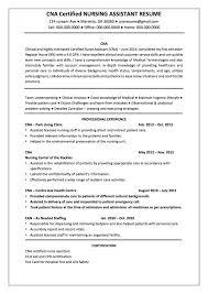 Certified Nurse Assistant Resume Strikingly Ideas Cna Resume 24 Certified Nursing Assistant Cna With 12