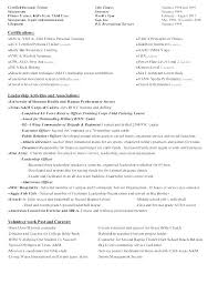 Resume Of Trainer Trainer Resume Fitness Instructor Resume Examples Personal Trainer