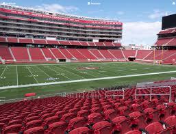Levis Stadium Section 119 Seat Views Seatgeek