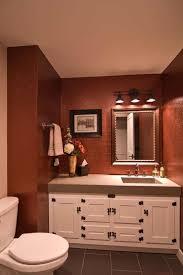 wall mount track lighting. natural art loft design applying artistic ornament vanity mirrored wall in awesome bathroom mount track lighting