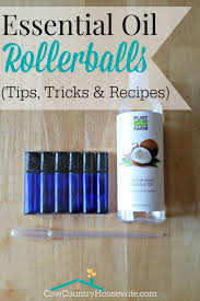 Thieves Oil Dilution Essential Oil Rollerball Recipes The Cow Country Housewife