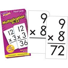 Buy Multiplication Flash Cards At S S Worldwide