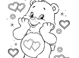 Small Picture Marvelous Idea Care Bear Coloring Pages Bears 224 Coloring Page