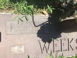 Ada Wideman Weeks (1912-2003) - Find A Grave Memorial