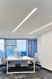 office lighting design. Recessed LEDs Add Balance To This Modern Office | Ontario, Canada TruLine 1.6A Lighting Design F
