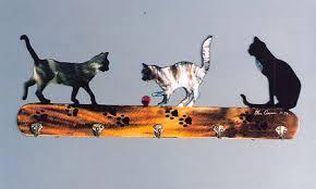 Cat Coat Rack Cat Coat Rack Photograph by Glen Cowan 3