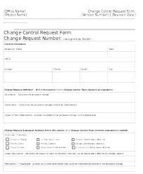 Project Change Order Template Change Management Form Template Project Request Form Template Word