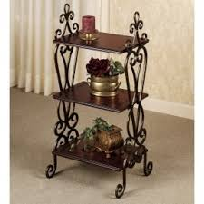 Wrought Iron Corner Shelves Wrought Iron Corner Shelf Foter 2