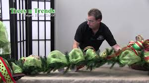 How To <b>Decorate</b> a <b>Garland</b> for Christmas - Trees n Trends - Unique ...