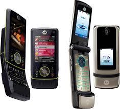 Motorola RIZR Z8, KRZR K3, MOTO Q8 and ...
