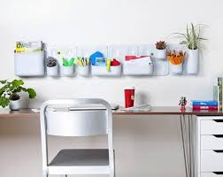 office hanging organizer. Above: An Office Wall Organizer With Adaptable Design, The Urbio Organization And Planter System Is Made Of Lightweight Polypropylene Plastic Hanging R