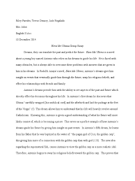 bless me ultima group essay pdf dream god