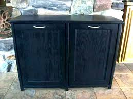 double garbage can cabinet free standing trash can cabinet double trash can cabinet double garbage can