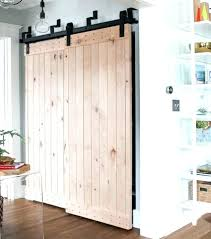 hallway door ideas outstanding sliding barn designs and for the home closet laundry room slid