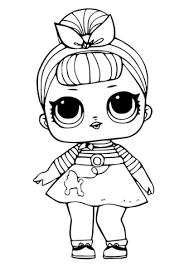 Disegno Di Bambolina Carina Da Colorare Disegni Da Colorare E