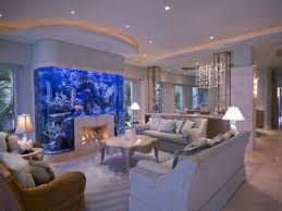 Home Staging Tips For Room With AquariumFish Tank Room Design