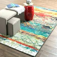 multi colored striped rug bright multi colored area rugs home strata eroded color rug 7 6 x in ideas