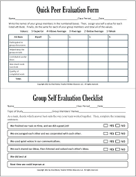 Best Student Self Assessment Ideas Cooperative Learning This Packet ...