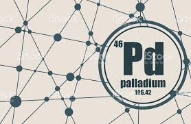 Palladium Chemical Element stock vector art 690807080 | iStock