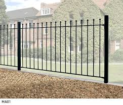 metal garden fencing panels manor wrought iron style metal garden fence panel high decorative metal garden