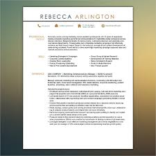 Unique Resume Fascinating Unique Resumes Free PSD WORD PDF Document Download Free