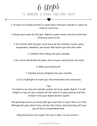 what s your mission statement template wedding personal bie friday 6 steps to planning a darn awesome week