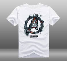 Us 19 99 2015 Movie Avengers 2 Age Of Ultron Imax Poster T Shirts Printed Mens Casual Cotton Short Sleeve Tops Tee Shirts Clothing In T Shirts From