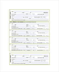 Employment Verification Form Templates | Template Business