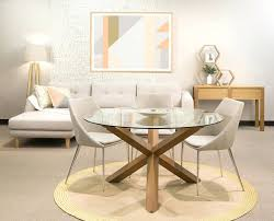 appealing round glass dining room table large size of minimalist dining round glass dining table walnut