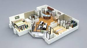 attractive best 2 bedroom bungalow house plans 3d 3 bedroom house plans 2 bedroom house plans