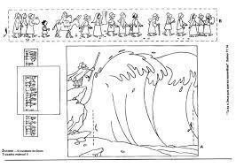 Inhoud Speelwerkbladen Verwerking Mozes Door De Rode Zee