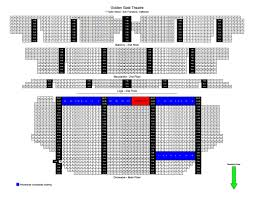 Accurate Shn Curran Seating Chart Curran Theater Seating