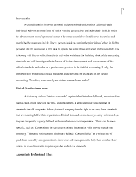 essay on professional ethics co essay on professional ethics
