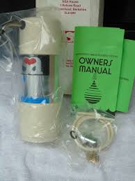 details about nsa 50c counter top bacteriostatic water treatment filter unit brand new boxed