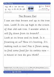 Includes differentiated support and independent sheets. Teach The Grapheme Ow With This Phonics Worksheet Teachwire Teaching Resource