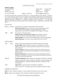 100 Child Actor Resume Sample Resume Samples No Experience