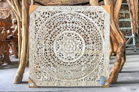whitewashed wall decor wall arts whitewashed wooden wall art wall art ideas design square white wood carved wall whitewashed round wood shaila wall decor