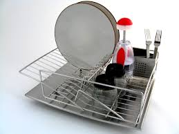 Kitchen Dish Drainer Rack Decor Tips Awesome Dish Drainer Rack Design For Plates And