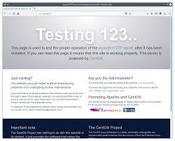 Serveur web Apache sous CentOS 7 – Microlinux