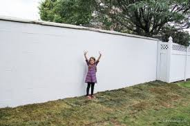 painting a cinder block fence remodelaholic 17 of 23