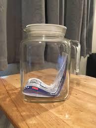bormioli rocco frigoverre glass pitcher jug with lid 77 75 oz