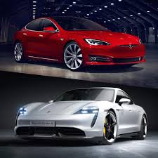 Porsche Model Chart Tesla Vs Porsche Does The Model S Finally Have A