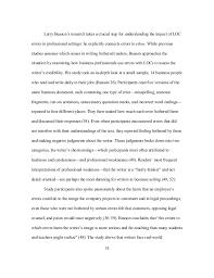mendelsohn dissertation