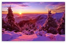 sunset mountain wallpaper 4k