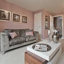 pink living room furniture. A Crushed Velvet Sofa Looks Fabulous And Adds An Air Of Opulence When Paired With Sleek Pink Living Room Furniture