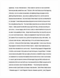 great gatsby thesis essays on hamlet hamlet essay great gatsby thesis f scott fitzgerald compared winter dreams vs the great gatsby